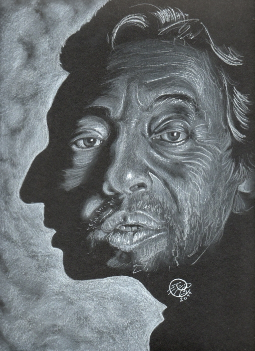 Serge Gainsbourg by PhilLP
